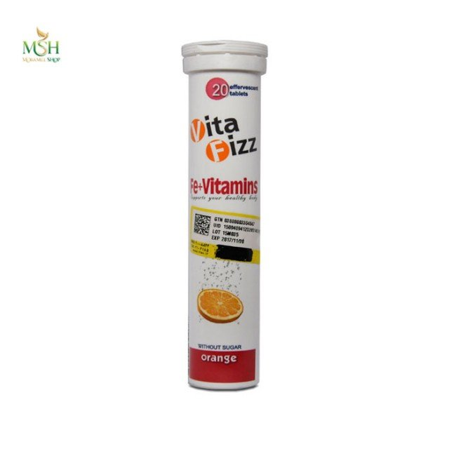 آهن و ویتامین ها ویتافیز | Vita Fizz Plus Fe and Vitamins