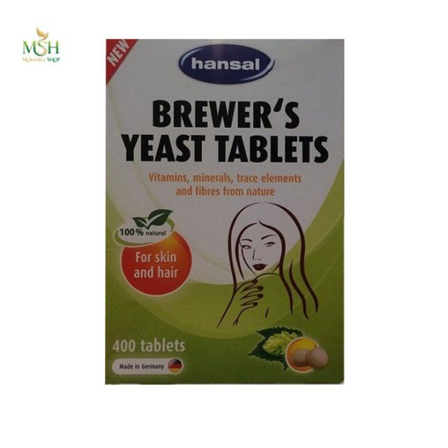 مخمر آبجو هانسال | Hansal Brewers Yeast Tablets