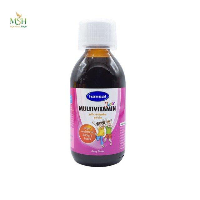 شربت مولتی ویتامین جونیور هانسال | Hansal Junior Multi Vitamin Syrup