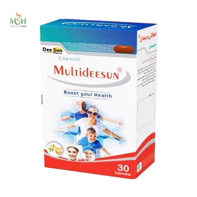کپسول مولتی دیسان دی سان فارما | Dee Sun Pharma Multideesun