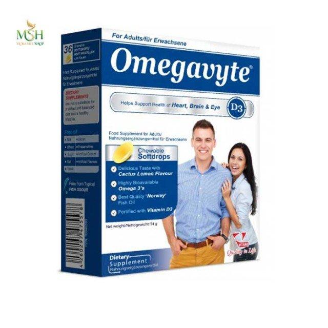 امگاویت D3 بزرگسالان ویتان   Vitane Omegavyte D3 for Adults