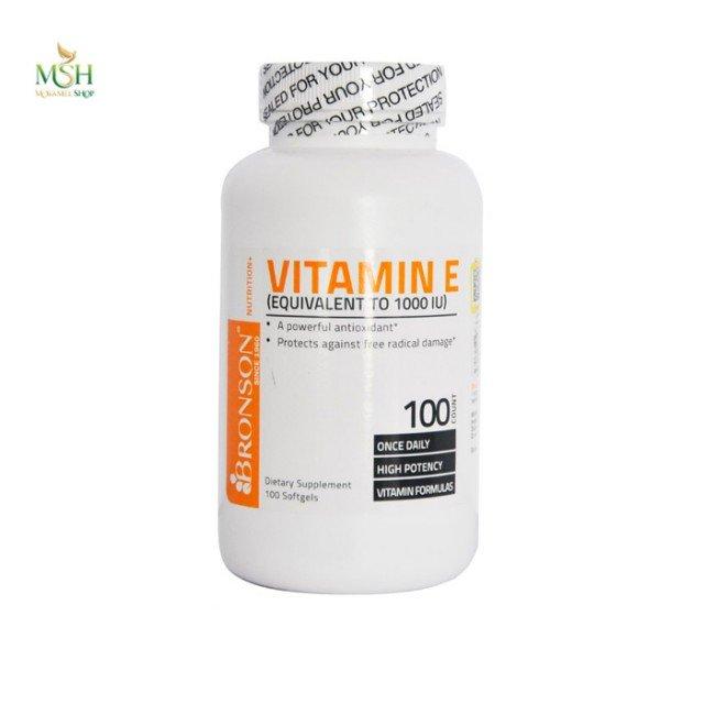 ویتامین ای برونسون | Bronson Vitamin E