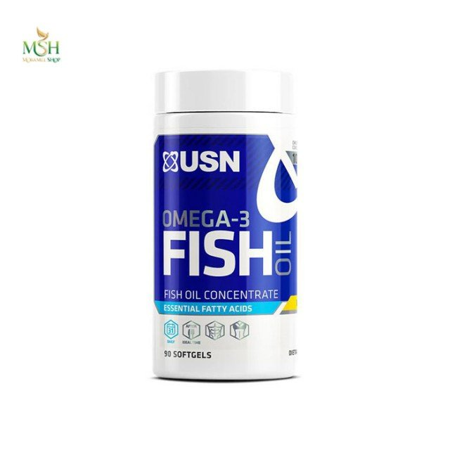 امگا3 روغن ماهی یو اس ان | USN Omega-3 Fish Oil