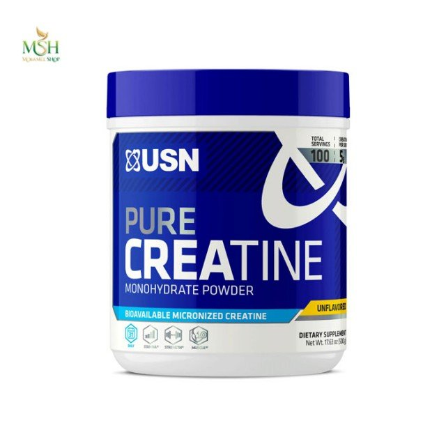 کراتین منوهیدرات یو اس ان | USN Pure Creatine Monohydrate