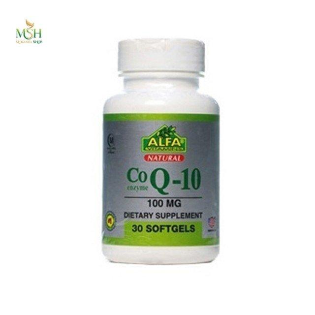 کو کیوتن 100 میلی گرم آلفا ویتامین | Alfa Vitamins CO Q10 100 mg