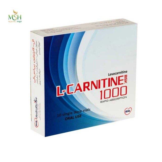 ال کارنیتین 1000 بی اس کی | BSK L-Carnitine 1000