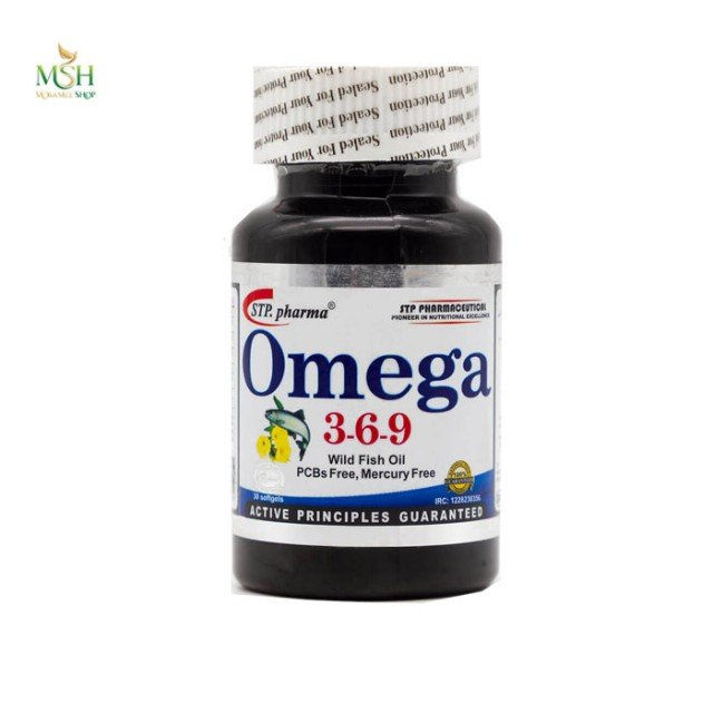 امگا 3 6 9 اس تی پی فارما | STP Pharma Omega 3 6 9