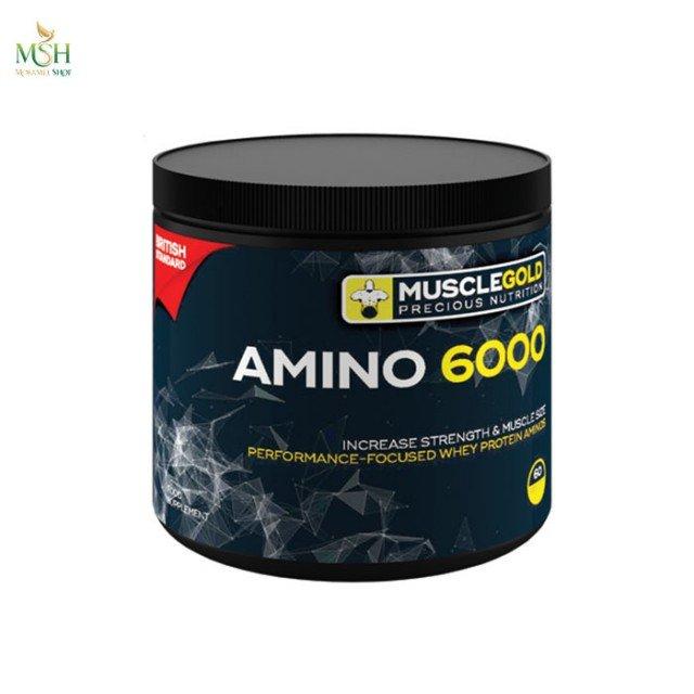 آمینو 6000 ماسل گلد   MuscleGold Amino 6000