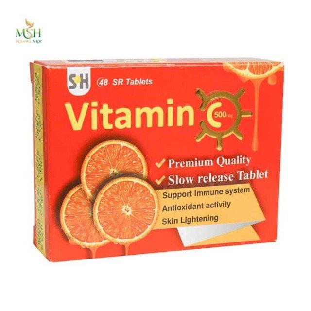 ویتامین ث 500 میلی گرم شهاب درمان | Shahab Darman Vitamin C 500