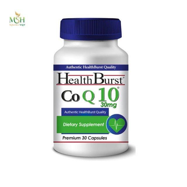 کو کیوتن 30 میلی گرم هلث برست | Health Burst Co Q10 30 mg