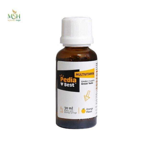 مولتی ویتامین پدیابست | Pedia Best Multi Vitamin