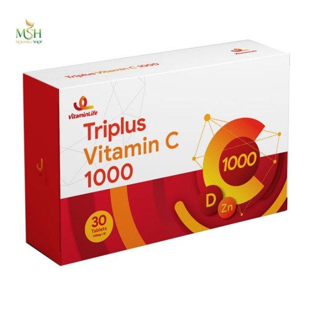 تری پلاس ویتامین ث 1000 ویتامین لایف | Vitamin Life Triplus Vitamin  C 1000