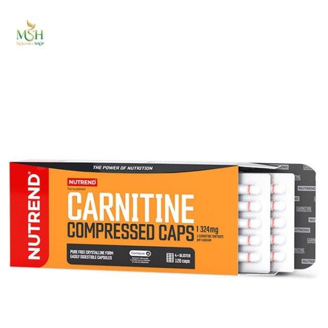 کارنیتین کامپرسد ناترند | Nutrend Carnitine Compressed Caps