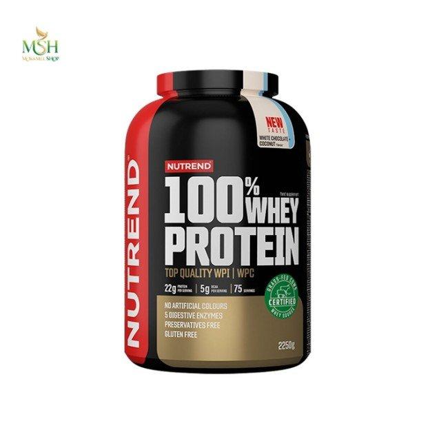پروتئین وی ناترند   Nutrend 100% Whey Protein