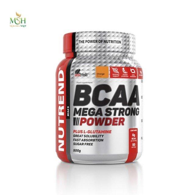 بی سی ای ای مگا استرانگ پودری ناترند   Nutrend BCAA Mega Strong Powder