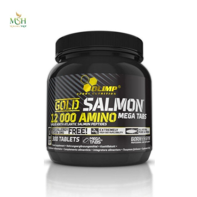 آمینو گلد سالمون 1200 الیمپ | Olimp Gold Salmon 12000 Amino