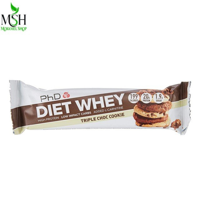 شکلات پروتئین بار دایت وی پی اچ دی | PhD Diet Whey Protein Bar