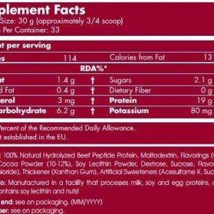 مشخصات پروتئین بیف سایتک