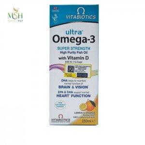 اولترا امگا 3 همراه ویتامین دی ویتابیوتیکس