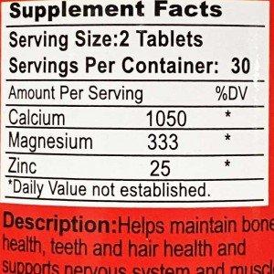 کلسیم منیزیم زینک فانتوم نوتریشن | Phantom Nutrition CMZ