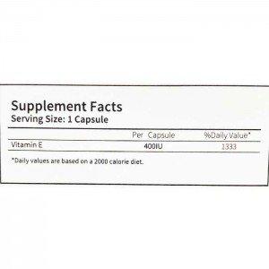 ویتامین ای 400 واحد کارن | Karen Vitamin E 400 IU