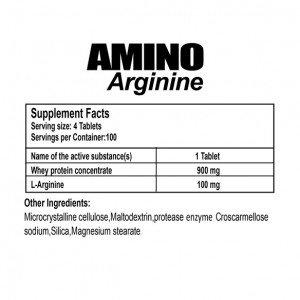 مشخصات آمینو آرژنین ژن استار