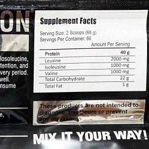 مشخصات پروتئین وی گلد 4500 گرمی فانتوم نوتریشن