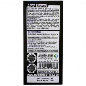 چربی سوز بانوان لیپو تروپین نوتریمد | Nutrimed Lipo Tropin For Women