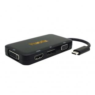 مبدل USB-C به HDMI/VGA/DVI/DisplayPort فینیکس مدل S-1601
