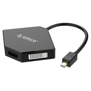 مبدل Mini Display به VGA/HDMI/DVI اوريکو مدل DMP-HDV3S