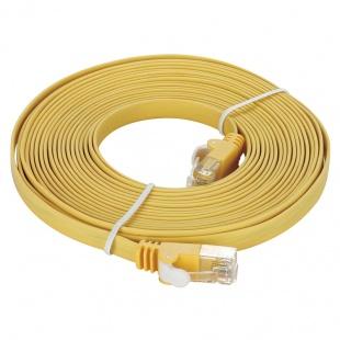کابل شبکه 3 متری CAT 5e زرد دی-لینک مدل NCB-5EUYELF1-3