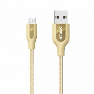 کابل تبدیل USB به میکرو USB انکر مدل A8142 PowerLine Plus به طول 0.9 متر