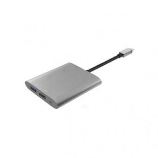 هاب 3 پورت USB 3.1 Type c فرانت همراه پورت شارژ PD 2.0