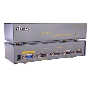 اسپلیتر VGA چهار پورت 350 مگاهرتز دیتک مدل DT-7354