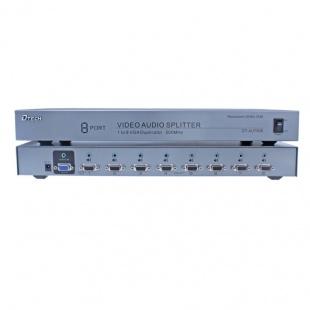 اسپلیتر VGA AUDIO هشت پورت دیتک مدل DT-AU7508 با کیفیت 500 مگاهرتز