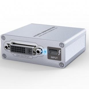 مبدل ThunderBolt مدل LKV178 به HDMI وVGA وDVI لنکنگ