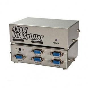 اسپلیتر VGA چهار پورت وی ونت با کیفیت 500 مگاهرتز