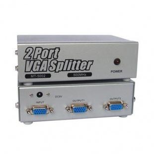 اسپلیتر VGA دو پورت وی ونت با کیفیت 500 مگاهرتز