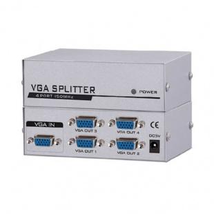 اسپلیتر VGA چهار پورت وی ونت با کیفیت 150 مگاهرتز
