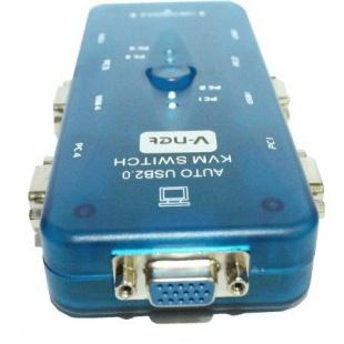سوییچ KVM چهار پورت وی ونت مدل Auto USB +کابل
