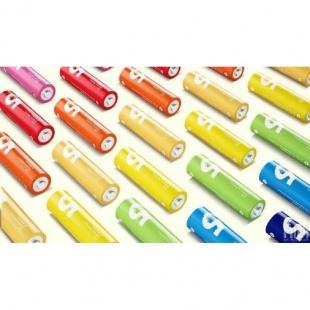 باتری رنگین کمانی قلمی