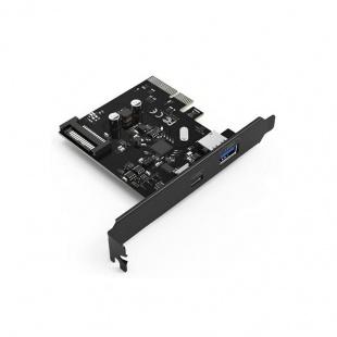 هاب اینترنال 2 پورت USB3.1 اوریکو مدل PA31-AC