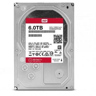 Western Digital Red Pro WD6002FFWX Internal Hard Drive - 6TB