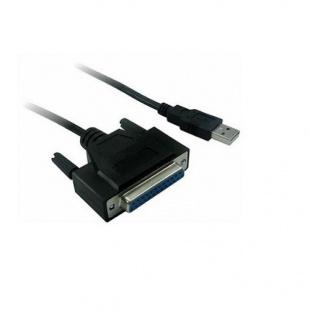 کابل مبدل پارالل Centronix 25pin پرینتر به USB فرانت