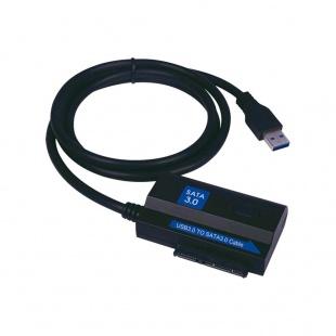 آداپتور USB3.0 به SATA 3.0 همراه پاور با قابلیت سرعت انتقال 5Gbps فرانت