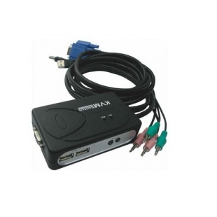 Faranet USB 2port KVM Switch With Cable