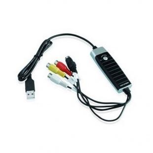 کارت کپچر USB 2.0 به AV و S-Video سازگار با ویندوز فرانت