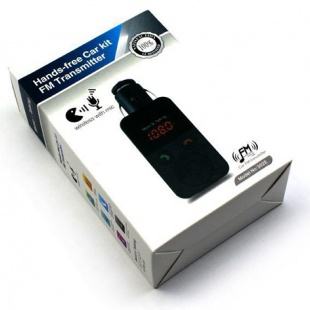 Hands Free Car Kit Fm Transmitter 301E