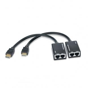 کابل افزایش طول HDMI بافو تحت شبکه 30 متری