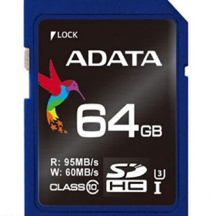 Adata Premier SDHC UHS-I U3 Class 10 Memory Card – 128GB